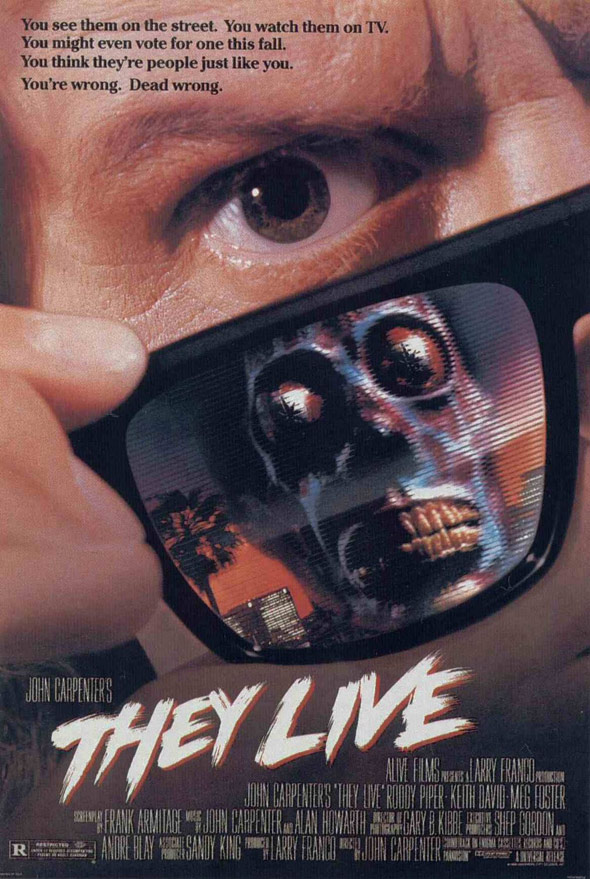 They Live Poster #1