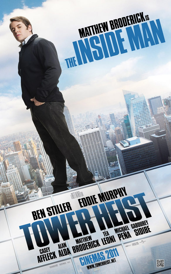 Tower Heist Poster #6