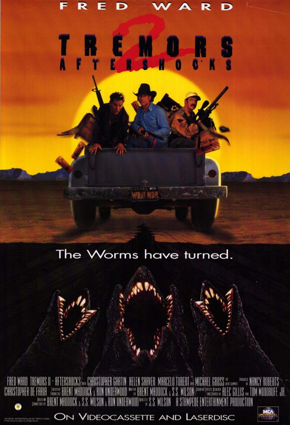 Tremors II: Aftershocks Poster #1