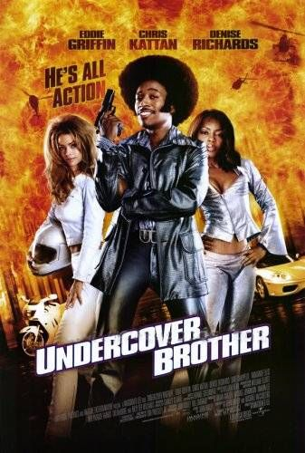 Undercover Brother Poster #1