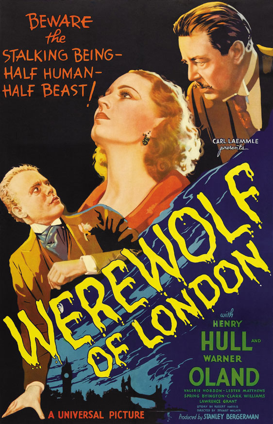 Werewolf of London Poster #1