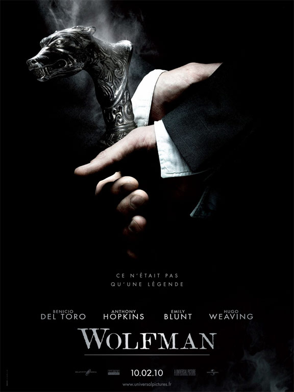 The Wolfman Poster #3