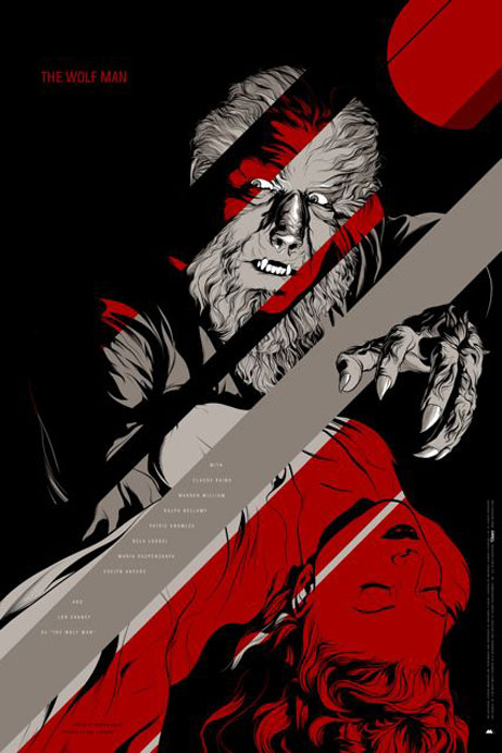 The Wolf Man Poster #2