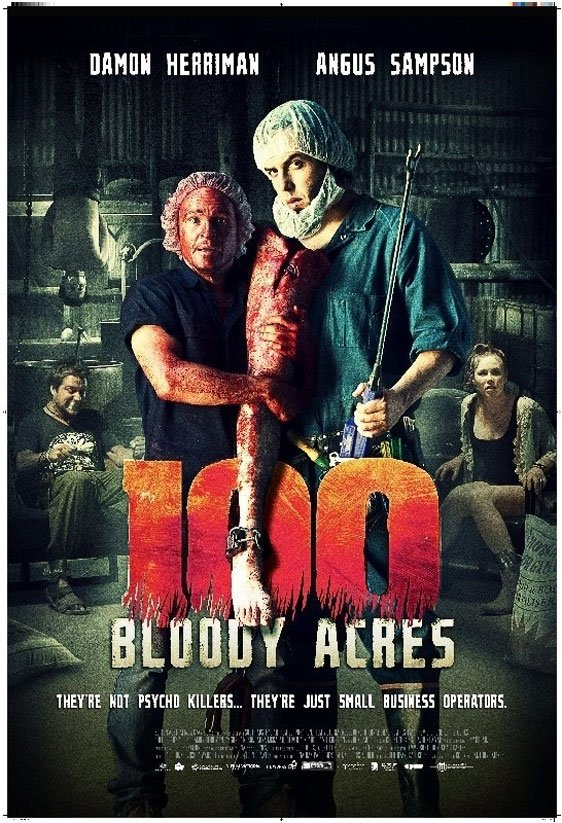 100 Bloody Acres Poster