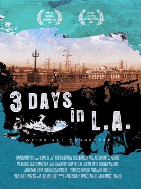 3 Days in L.A. Poster #1