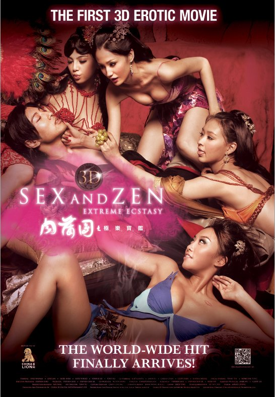 3-D Sex and Zen: Extreme Ecstasy Poster