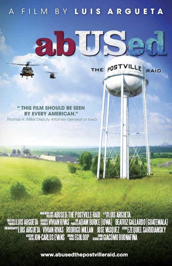 AbUSed: The Postville Raid Poster #1