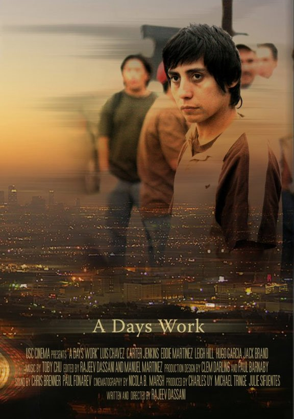A Day's Work Poster