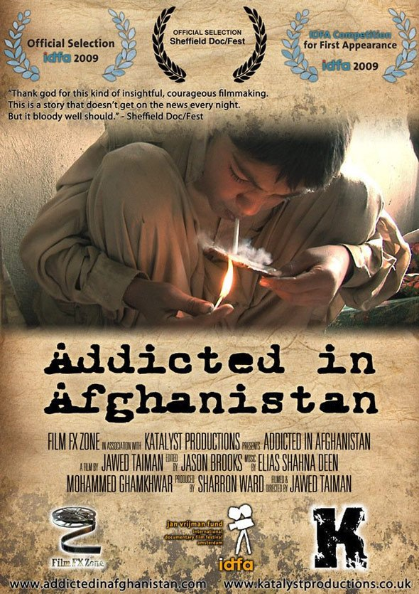 Addicted in Afghanistan Poster