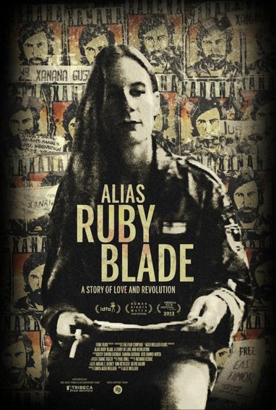 Alias Ruby Blade Poster