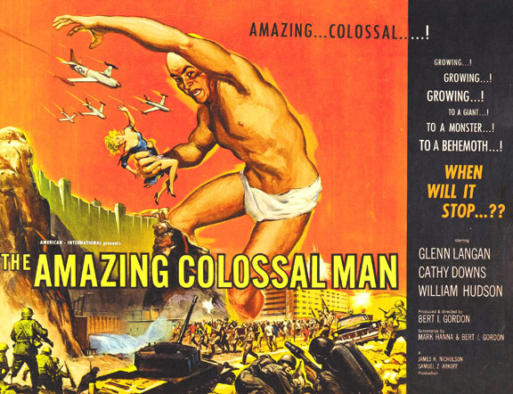 The Amazing Colossal Man Poster #2