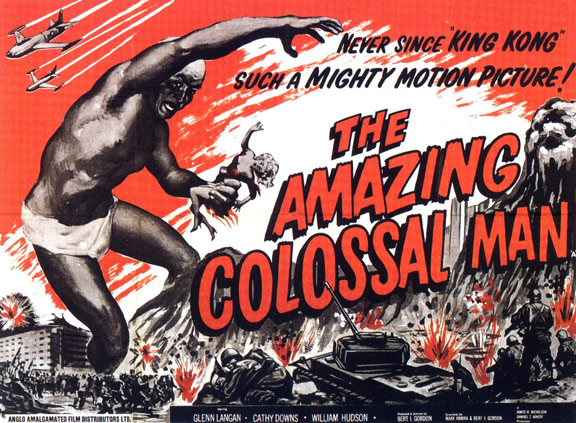 The Amazing Colossal Man Poster #3