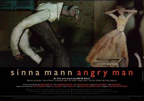 Angry Man Poster #1