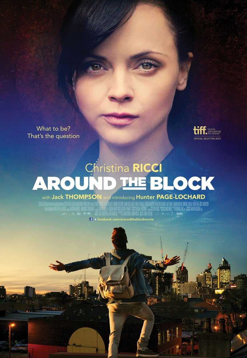 Around the Block Poster