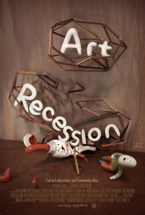 Art Recession Poster