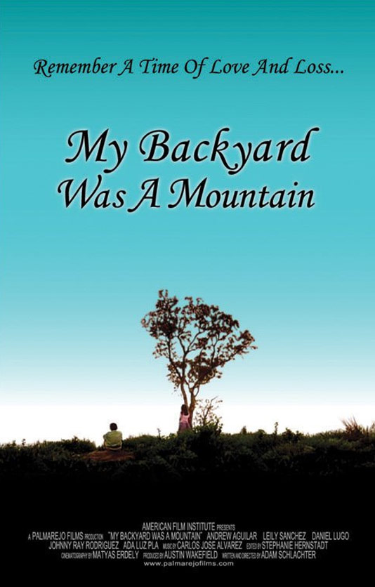 My Backyard Was a Mountain Poster
