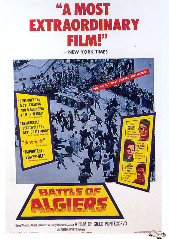 The Battle of Algiers Poster #2