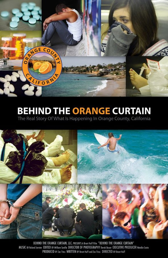 Behind the Orange Curtain Poster #1
