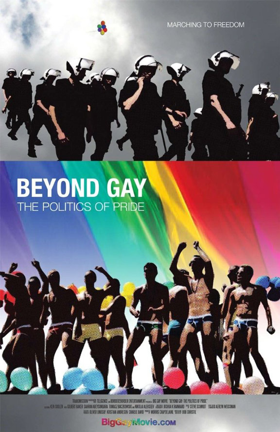 Beyond Gay: The Politics of Pride Poster