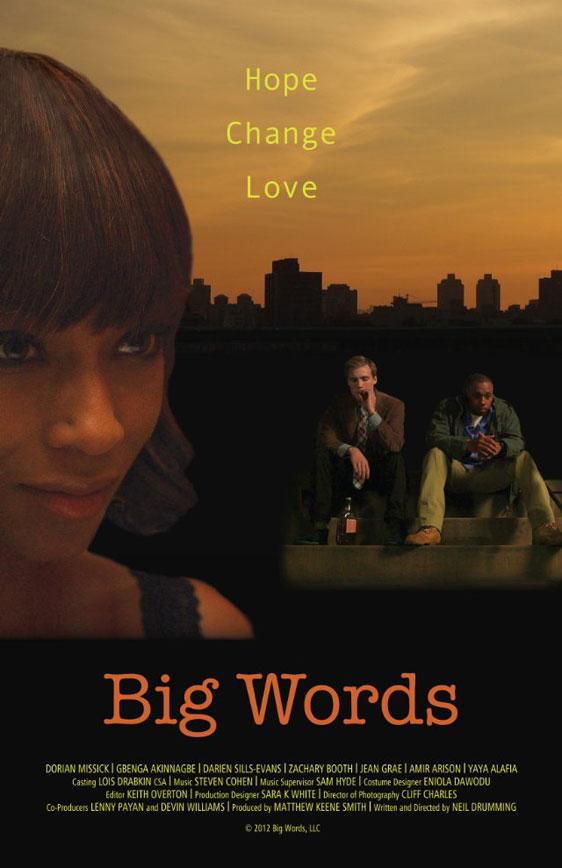 Big Words Poster #1