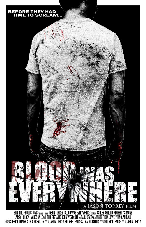 Blood Was Everywhere Poster