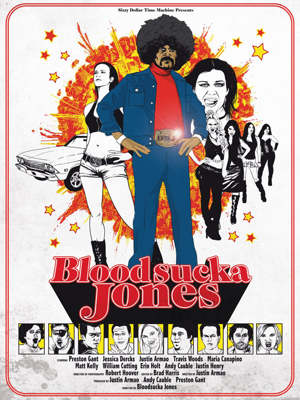Bloodsucka Jones Poster
