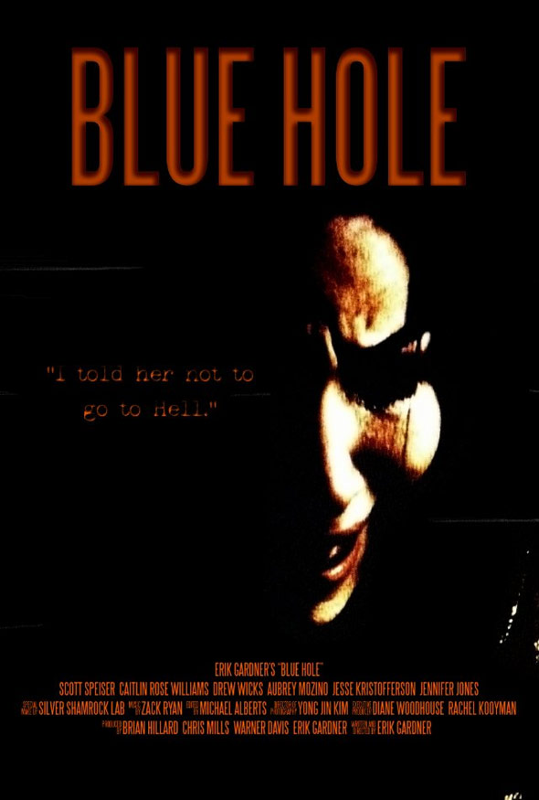 Blue Hole Poster #1