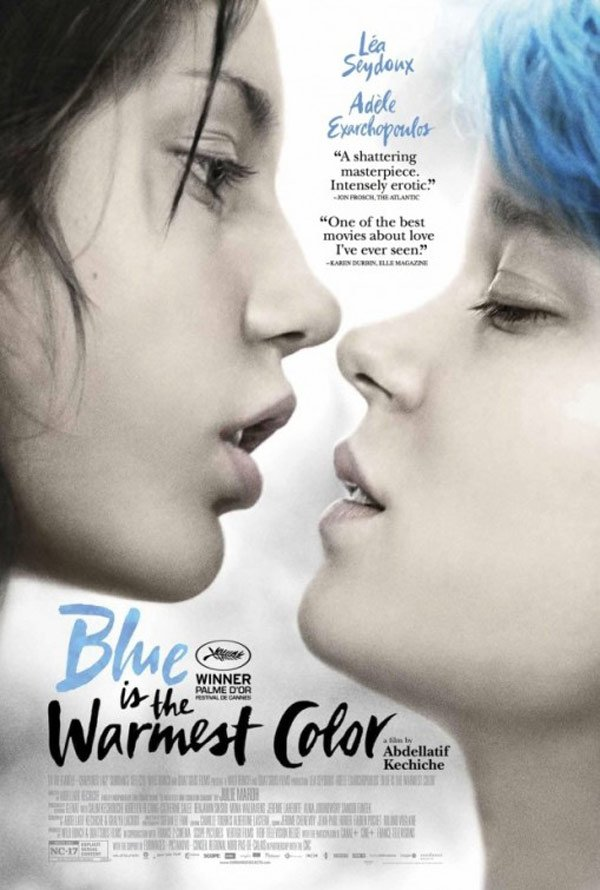 Blue is the Warmest Color Poster #3
