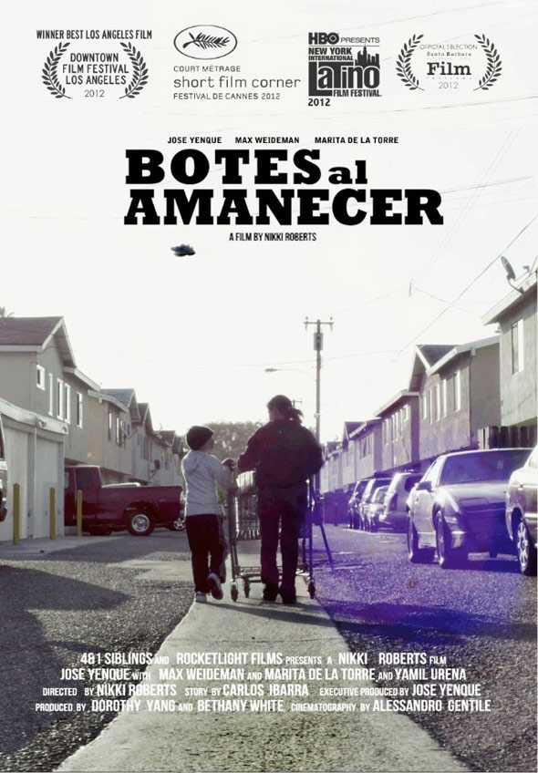 Cans at Dawn (Botes al Amanacer) Poster