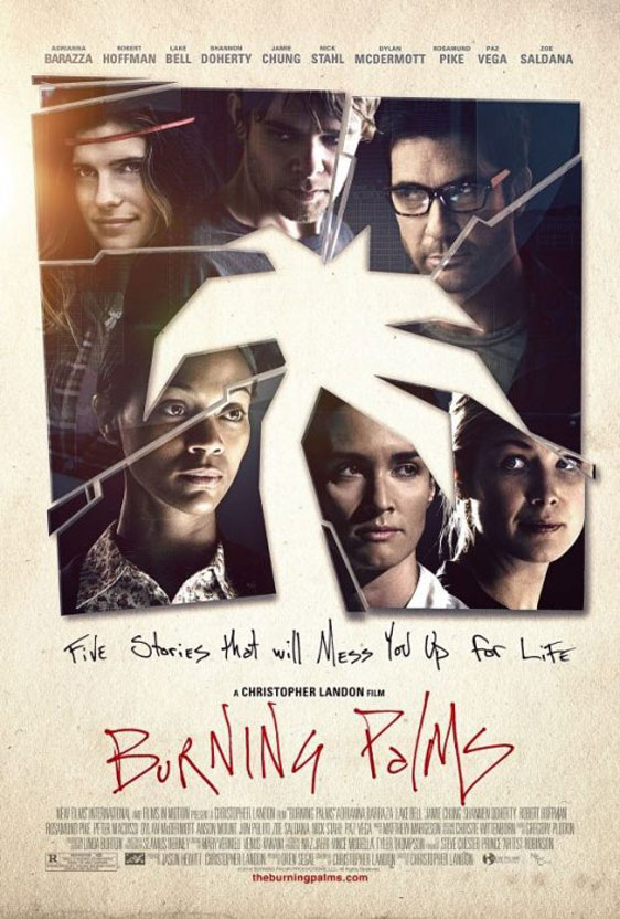 Burning Palms Poster #3