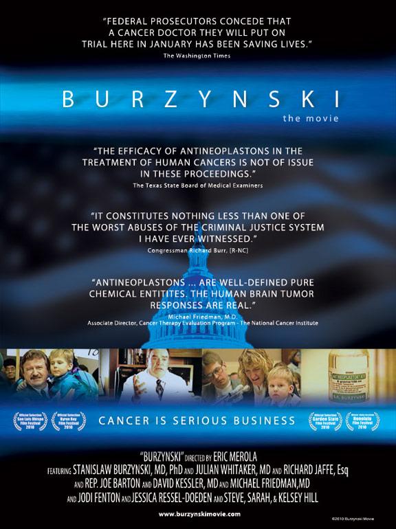 Burzynski Poster
