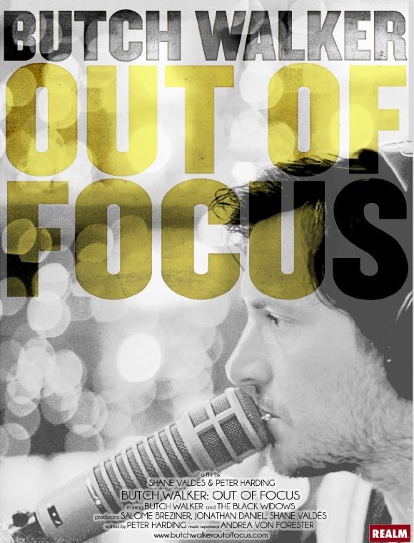 Butch Walker: Out of Focus Poster #1