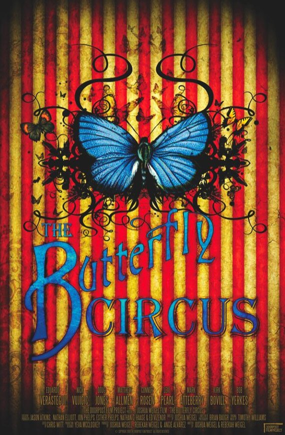 The Butterfly Circus Poster