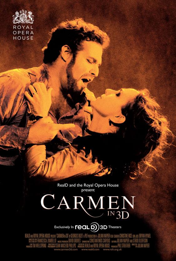 Carmen 3D Poster
