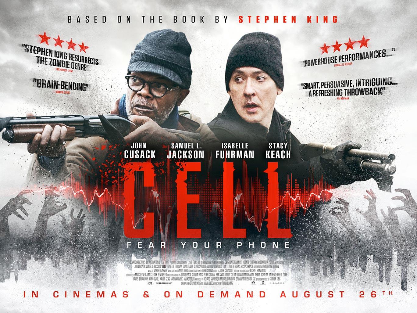 فيلم الاكشن Cell 2016 مترجم