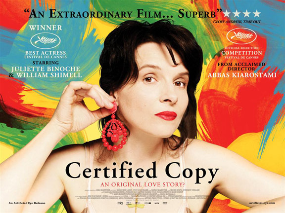 Certified Copy (Copie conforme) Poster #2