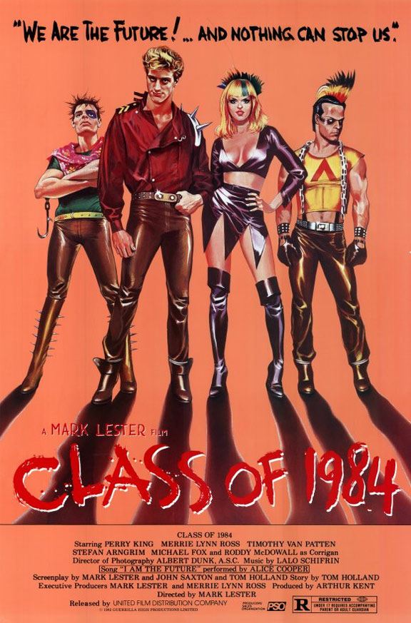 Class of 1984 Poster #1