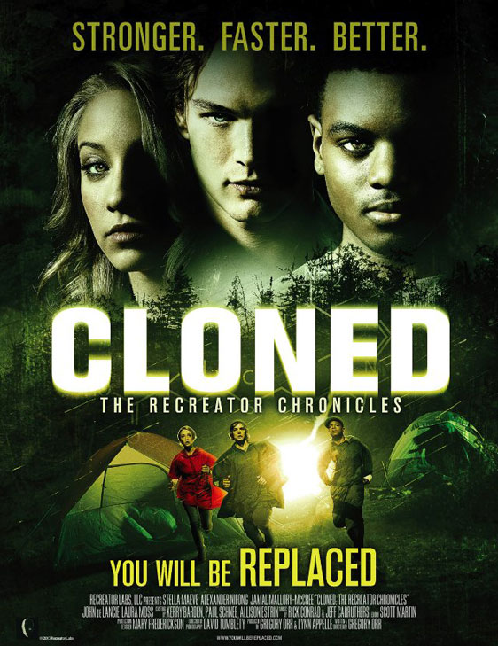 Cloned: The Recreator Chronicles Poster #1