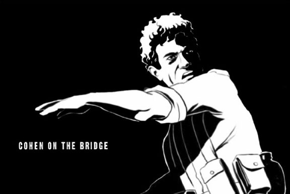 Cohen on the Bridge: Rescue at Entebbecoh Poster #1