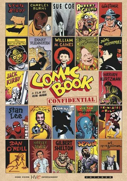 Comic Book Confidential Poster #1
