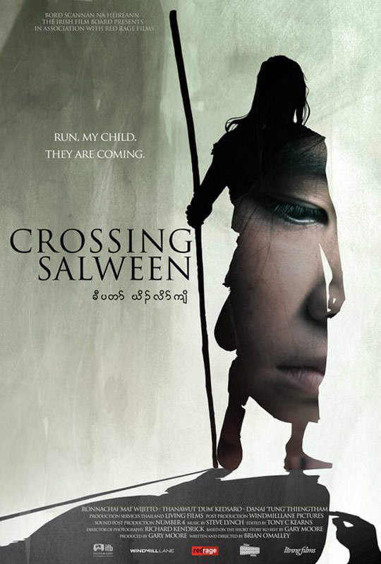 Crossing Salween Poster