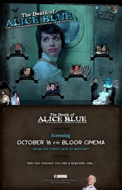The Death of Alice Blue Poster