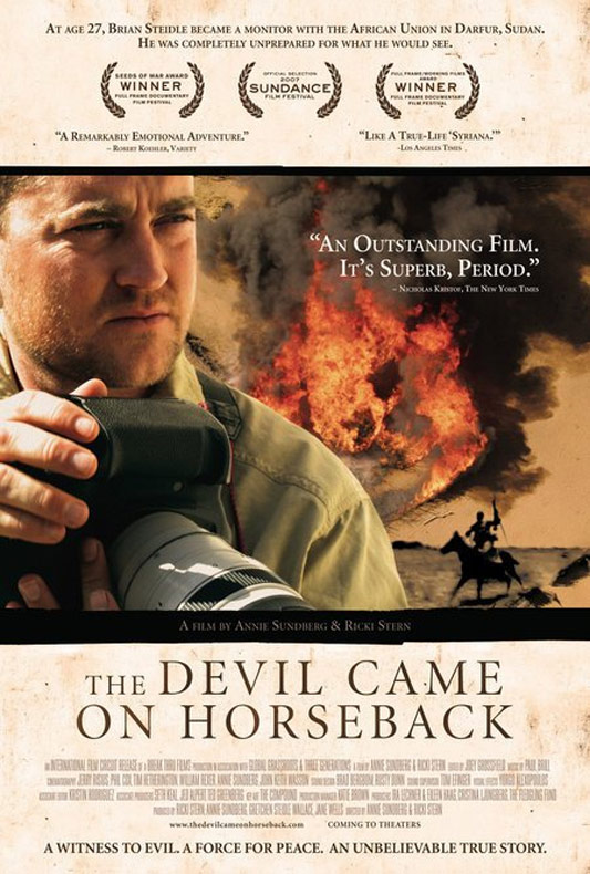 The Devil Came On Horseback Poster #1