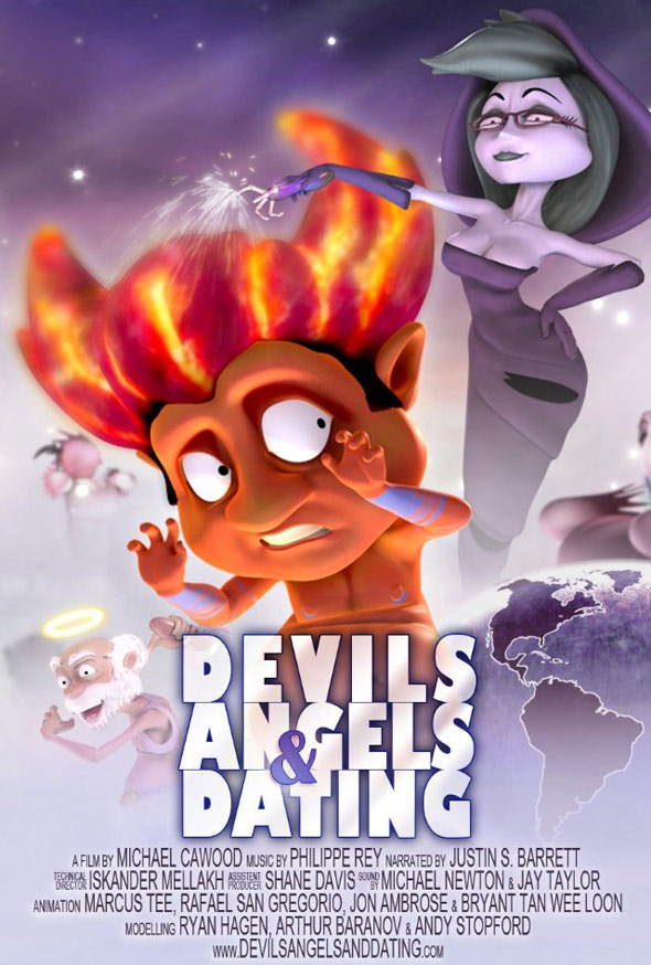 Devils Angels & Dating Poster #1