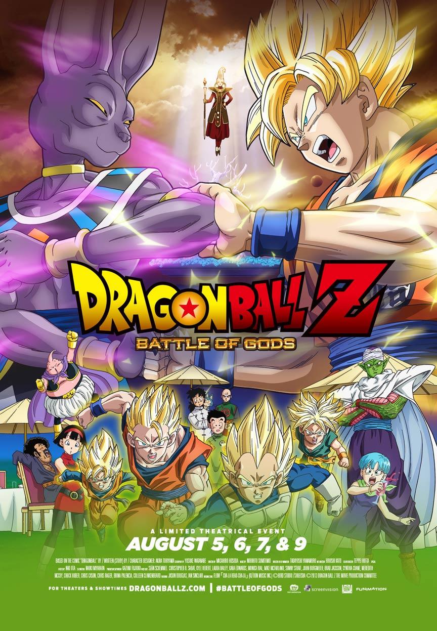 dragon ball z battle of gods 2014 poster 1 trailer