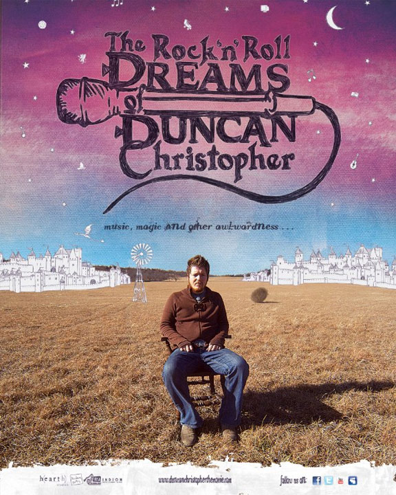 The Rock 'n' Roll Dreams of Duncan Christopher Poster