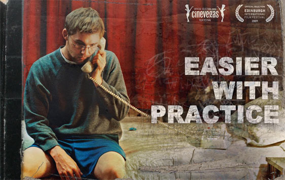 Easier With Practice Poster #2