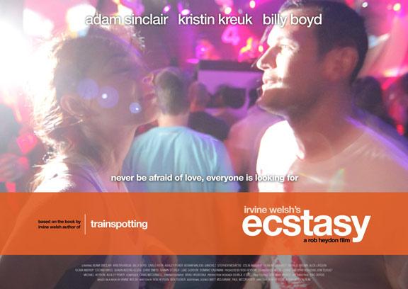 Irvine Welsh's Ecstasy Poster #3
