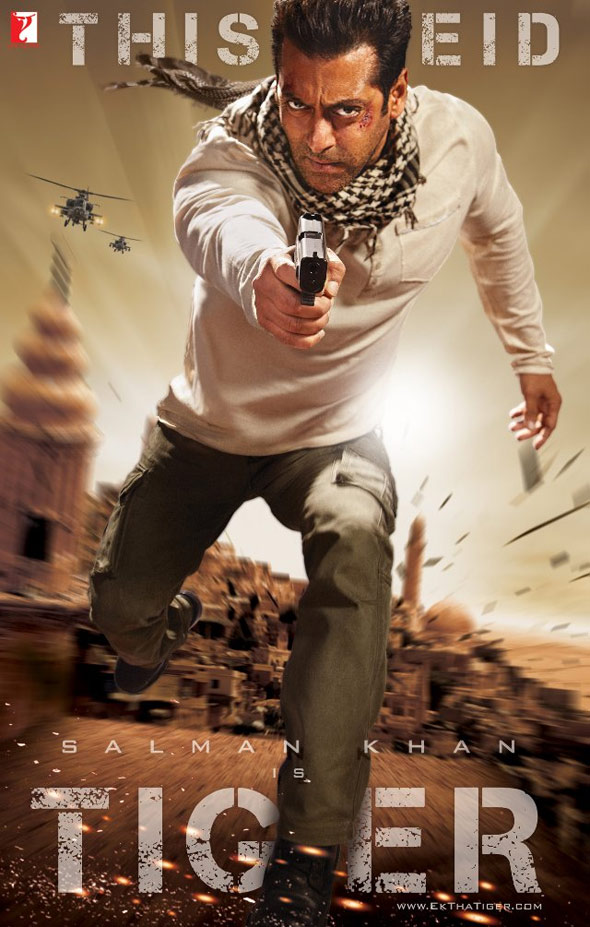 Ek Tha Tiger Poster #1