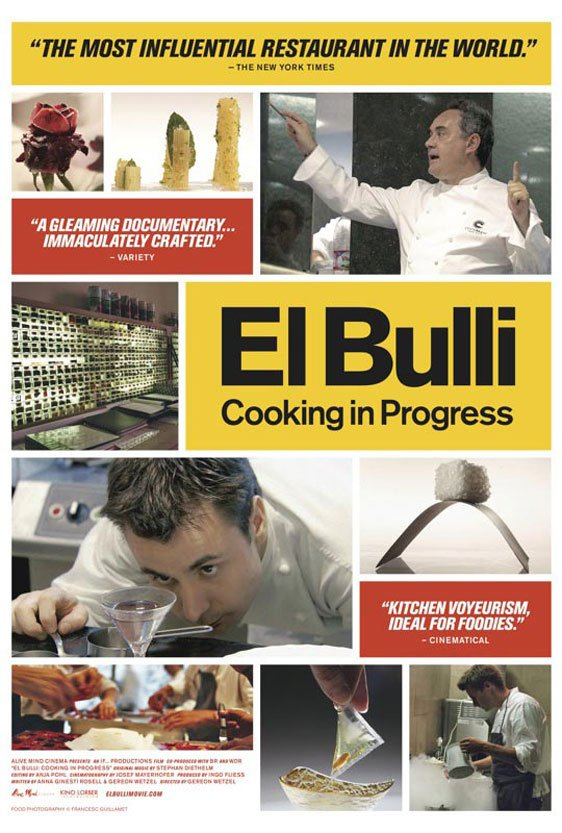 El Bulli: Cooking in Progress Poster #1
